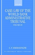 Cover of Case-Law of the World Bank Administrative Tribunal: Volume 3
