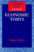 Cover of Economic Torts