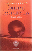 Cover of Corporate Insolvency Law