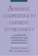 Cover of Assessing Competence to Consent to Treatment