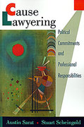 Cover of Cause Lawyering: Political Commitments and Professional Responsibilities