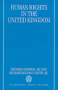 Cover of Human Rights in the United Kingdom