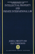 Cover of Intellectual Property and Private International Law