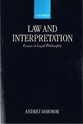 Cover of Law and Interpretation: Essays in Legal Philosophy