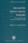Cover of Realistic Socio-legal Theory: Pragmatism and a Social Theory of Law