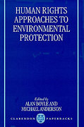 Cover of Human Rights Approaches to Environmental Protection