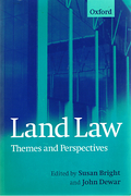 Cover of Land Law: Themes and Perspectives