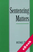 Cover of Sentencing Matters (eBook)