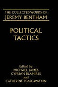 Cover of The Collected Works of Jeremy Bentham: Political Tactics