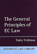Cover of The General Principles of EC Law