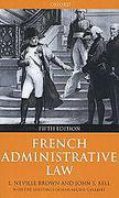 Cover of French Administrative Law