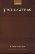 Cover of Just Lawyers: Reguation and Access to Justice