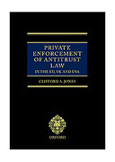 Cover of Private Enforcement of Antitrust Law in the EU, UK and USA