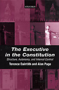 Cover of The Executive in the Constitution