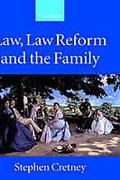 Cover of Law, Law Reform and the Family