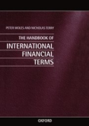 Cover of The Handbook of International Financial Terms