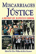 Cover of Miscarriages of Justice: A Review of Justice in Error
