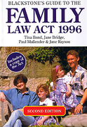 Cover of Blackstone's Guide to The Family Law Act 1996