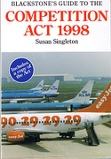 Cover of Blackstone's Guide to the Competition Act 1998