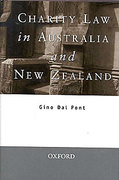 Cover of Charity Law in Australia and New Zealand