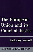 Cover of The European Union and Its Court of Justice