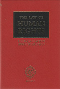 Cover of Law of Human Rights 1st ed