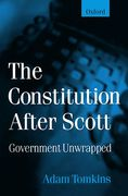 Cover of The Constitution After Scott
