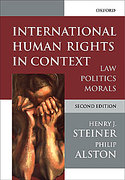 Cover of International Human Rights in Context: Law, Politics, Morals