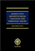 Cover of Deducting Benefits from Damages for Personal Injury