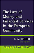 Cover of The Law of Money and Financial Services in the EC