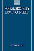 Cover of Social Security Law in Context