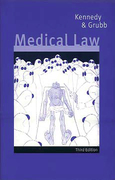 Cover of Medical Law