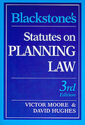 Cover of Blackstone's Statutes on Planning Law