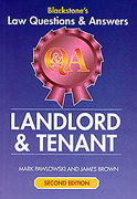 Cover of Blackstone's Q&A: Landlord and Tenant