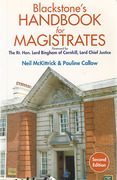 Cover of Blackstone's Handbook for Magistrates