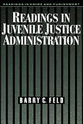 Cover of Readings in Juvenile Justice Administration