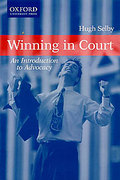 Cover of Winning in Court: An Introduction to Advocacy