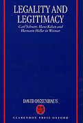 Cover of Legality and Legitimacy