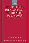 Cover of The Concept of International Obligations Erga Omnes
