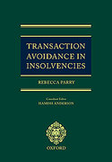 Cover of Transaction Avoidance in Insolvencies