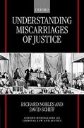 Cover of Understanding Miscarriages of Justice
