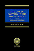Cover of The Law of Copyright and the Internet
