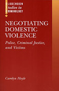 Cover of Negotiating Domestic Violence