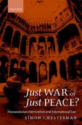 Cover of Just War or Just Peace?