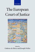 Cover of The European Court of Justice