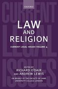 Cover of Current Legal Issues Volume 4: Law and Religion