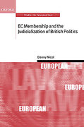 Cover of EC Membership and the Judicialization of British Politics