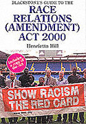 Cover of Blackstone's Guide to the Race Relations (Amendment) Act 2000