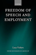 Cover of Freedom of Speech and Employment