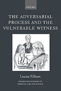 Cover of The Adversarial Process and the Vulnerable Witness